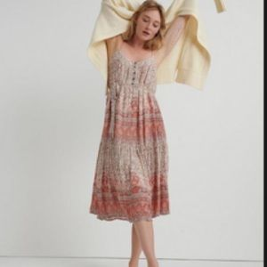 Lucky Brand Nikki Midi Dress